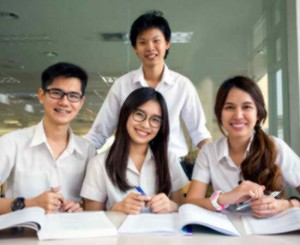 Asian international students